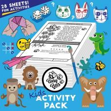 ACTIVITY PACKS (Kids) - 28 Sheets of Activities