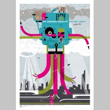 SCI-FI (A3 Framed Print) - Androids - Philip K. Dick