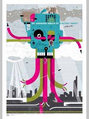 SCI-FI (A3 Framed Print) - Androids - Philip K. Dick - £25