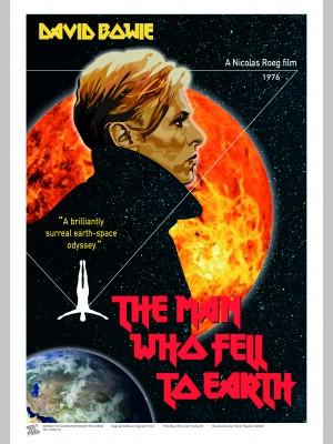 FILM (A3 Framed Print) - David Bowie - £25