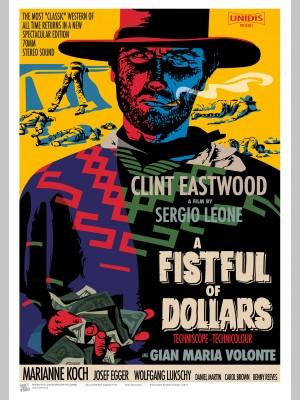FILM (A3 Framed Print) - Clint Eastwood - English & Italian Versions - £25