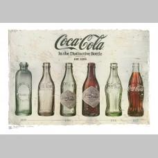 STYLE (A3 Framed Print) - Coke Bottles