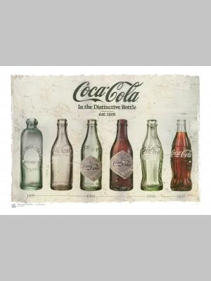 STYLE (A3 Framed Print) - Coke Bottles - £25