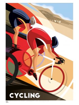 SPORT (A3 Framed Print) - Cycling - £25