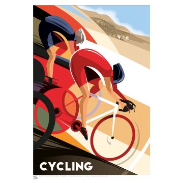 SPORT (A3 Framed Print) - Cycling