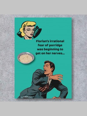 GREETINGS CARDS - FEAR - £4.99