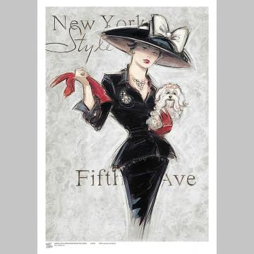 STYLE (A3 Framed Print) - New York Style