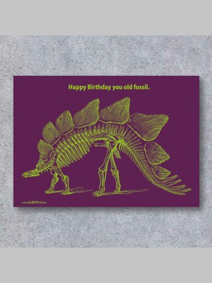 GREETINGS CARDS - FOSSIL - £4.99