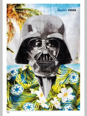 FILM (A3 Framed Print) - Honolulu Vader - £25