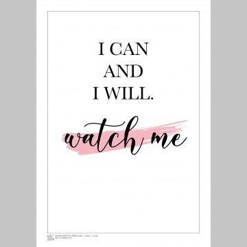 INSPIRATION (A3 Framed Print) - I Can