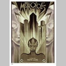 FILM (A3 Framed Print) - Metropolis