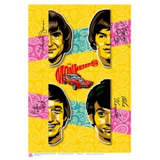 MUSIC (A3 Framed Print) - The Monkees