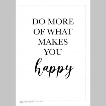 INSPIRATION (A3 Framed Print) - Do More - White