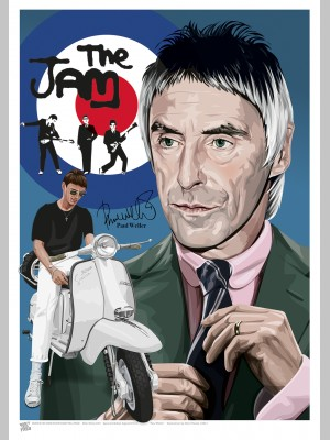 MUSIC (A3 Framed Print) - Paul Weller - £25