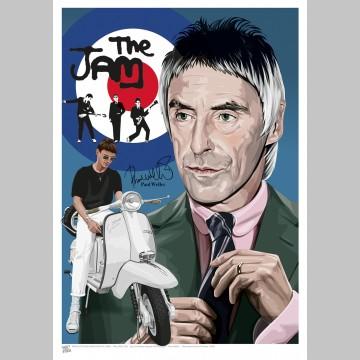 MUSIC (A3 Framed Print) - Paul Weller
