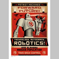 SCI-FI (A3 Framed Print) - Robotics!
