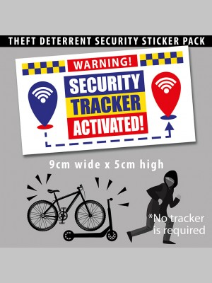 LIFESTYLE PRODUCTS - Anti-Theft Security Sticker Pack - £12