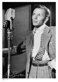 MUSIC (A3 Framed Print) - Sinatra