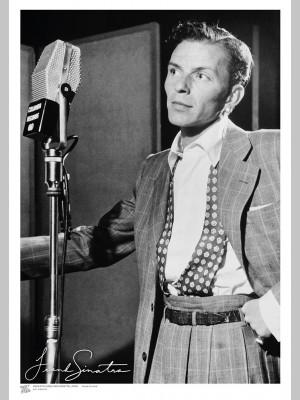 MUSIC (A3 Framed Print) - Sinatra - £25