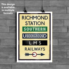 TOWNS (Various Formats) - Richmond Station
