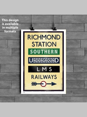 TOWNS (Various Formats) - Richmond Station - £25