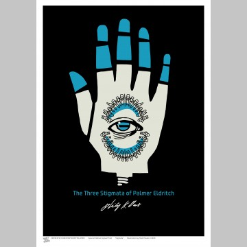 SCI-FI (A3 Framed Print) - Stigmata - Philip K. Dick