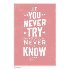 INSPIRATION (A3 Framed Print) - Try